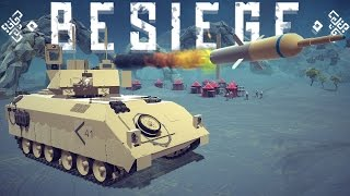 Besiege Best Creations - Amazing Military Vehicles, Scaled Solar System, Working Calculator & More!