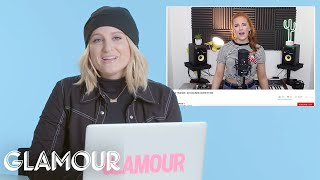 Meghan Trainor Watches Fan Covers On   You Sang My Song   Glamour