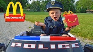 McDonalds Drive Thru Parody WHO ATE MY LUNCH Part 2 Entertaining Kids