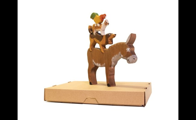 Handmade Wooden Toy The Bremen Town Musicians Youtube