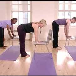 Chair Yoga For Seniors Boon High Pink Stronger Standing Sequence Exercise Fibromyalgia - Youtube