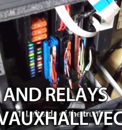 where are fuses and relays in opel vauxhall vectra c youtube wiring diagram for opel corsa [ 1280 x 720 Pixel ]