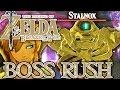 BOSS-RUSH: ALLE STALHINOX! ZELDA BREATH OF THE WILD Part 88 [Deutsch/Switch]