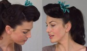 pin ponytail - easy & practical