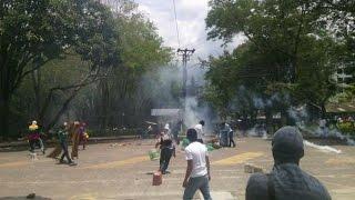 Encapuchados se toman la Universidad del Tolima