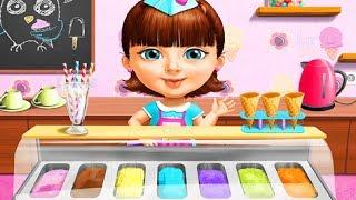 Sweet Baby Girl Summer Fun 2 - Learn to Make Yummy Ice Cream Gameplay for Girls