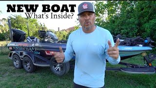 My New Boat - What's Inside?
