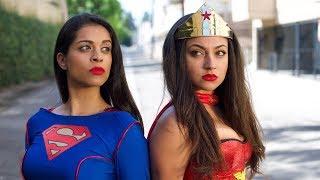 Wonder Woman vs. Superwoman (ep. 3) | Inanna Sarkis & Lilly ″IISuperwomanII″ Singh