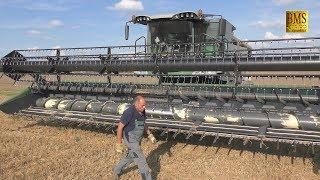 Fendt Mähdrescher 9490x ATRAK Raupen - Weizenernte - Biggest Fendt combine harvester wheat harvest