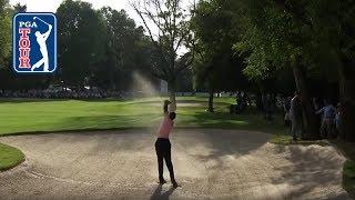 That unbelievable Tiger Woods' fairway bunker shot | WGC Mexico 2019