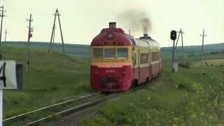 Дизель-поезд Д1-770 на о.п. Скумпия / D1-770 at Scumpia stop