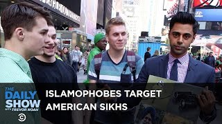 Confused Islamophobes Target American Sikhs: The Daily Show
