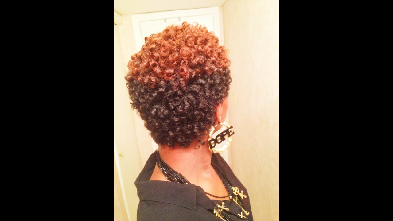 Perm Rods Natural Short Hairstyles