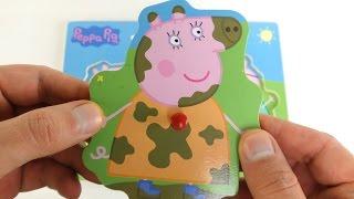Peppa Pig muddy puddles & Theme park puzzles