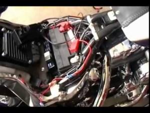 J&M Handlebar Mounted Speaker Install on a 2010 Harley Davidson Softail Deluxe FLSTN  YouTube