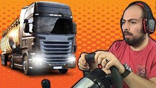 Euro Truck Simulator 2 Oynadık