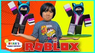 We made Ryan's Roblox Character into 3D Toys In real life!!!