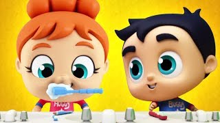 Brush Your Teeth Song | This is The Way Song for Babies | Nursery Rhymes Kid Song by The Supremes