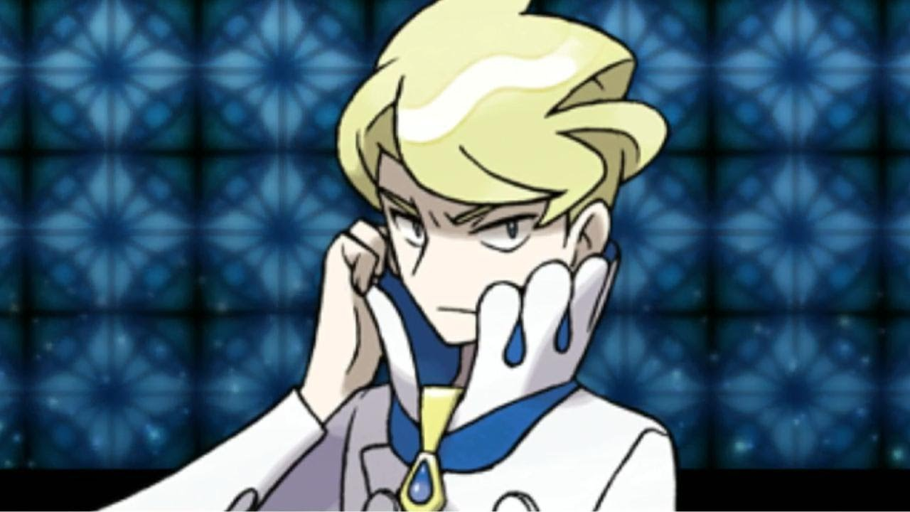 Elite Four Siebold Minecraft Skin