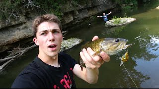 Look What We Found in The Creek! - ft. LunkersTV