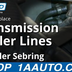 Ford Taurus Cooling System Diagram 1969 John Deere 140 Wiring How To Install Replace Transmission Cooler Lines 2001-06 Chrysler Sebring - Youtube