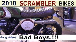 Scrambler Motorcycles 2018