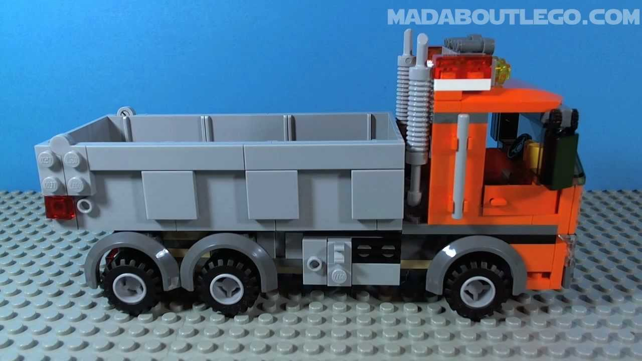 LEGO CITY DUMP TRUCK 4434  YouTube