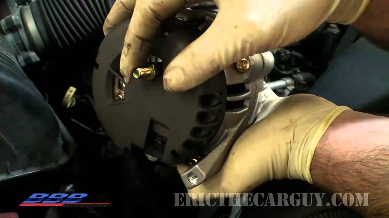 2013 Dodge Caravan Wiring Diagram Pdf How To Change Remove Amp Replace An Alternator Youtube
