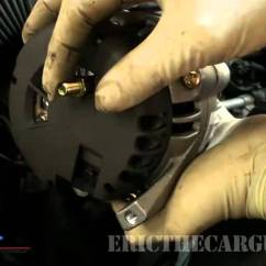 91 Jeep Cherokee Alternator Wiring Diagram Heat Pump Thermostat How To Change (remove & Replace) An - Youtube