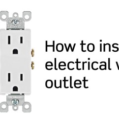 wiring an electrical outlet diagram wiring diagram val [ 1920 x 1080 Pixel ]