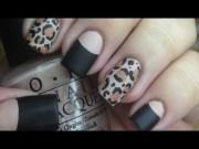 matte leopard nail tutorial