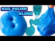 make slime with nail polish