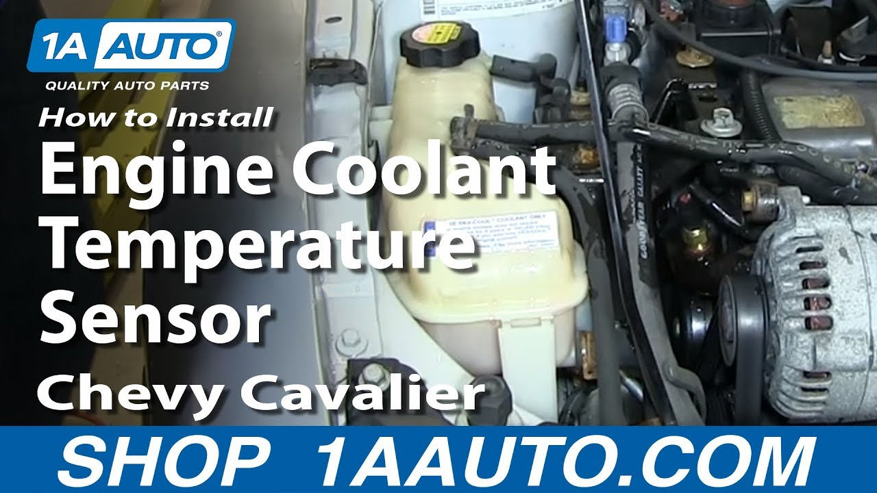 Daewoo Lanos 1 5 Wiring Diagram How To Install Replace Engine Coolant Temperature Sensor