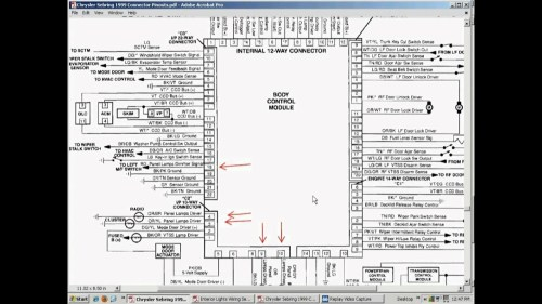 small resolution of 99 chrysler 300m fuse diagram
