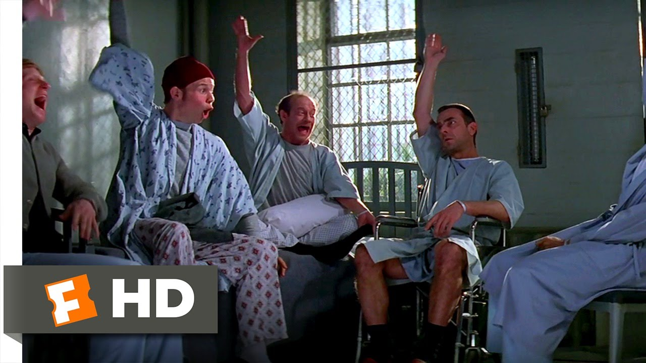 Patch Adams 210 Movie CLIP  Group Therapy 1998 HD  YouTube