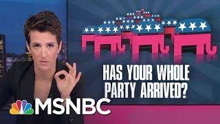 Republican Party's Racism Problem Predates President Donald Trump   Rachel Maddow   MSNBC