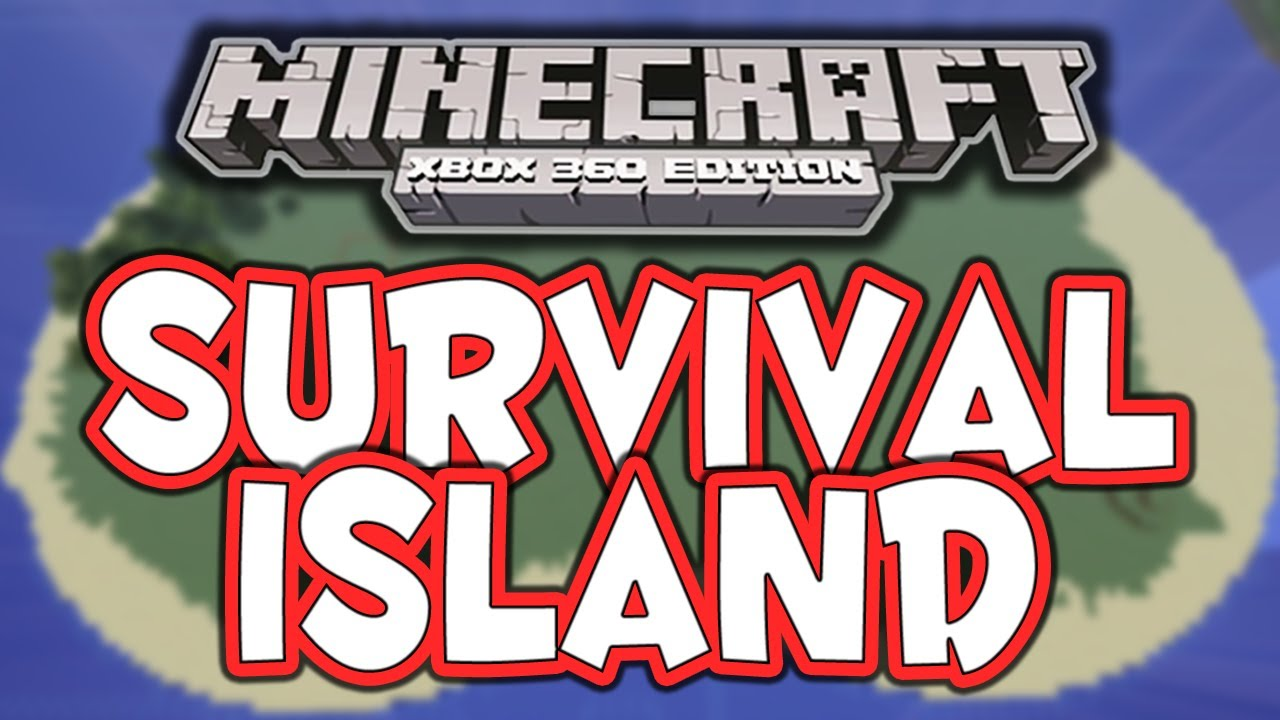 Minecraft Xbox 360  Survival Island CoOp  1  It