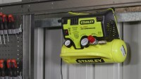 Stanley Wall Mount Air Compressor - YouTube