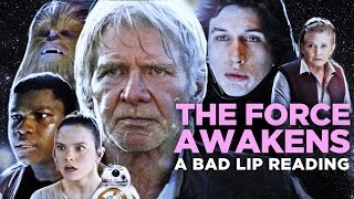 ″THE FORCE AWAKENS: A Bad Lip Reading″ (Featuring Mark Hamill as Han Solo)