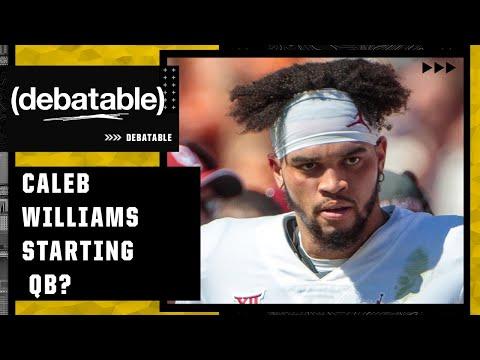 Should Oklahoma have picked Caleb Williams to start?   (debatable)