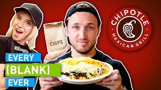 Watch EVERY CHIPOTLE EVER Video