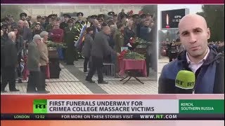 Crimea school massacre: How the killer carried out lethal attack