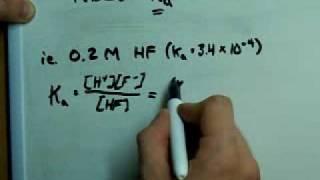 Calculate pH of a Weak Acid