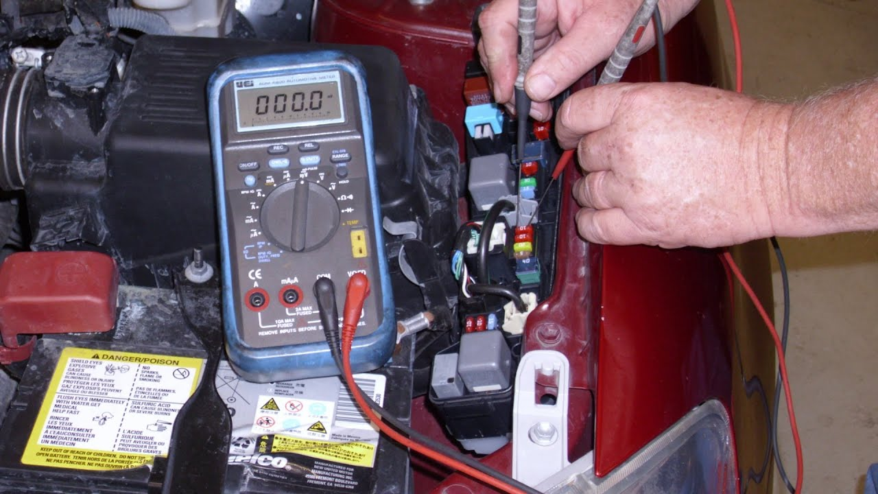 Using Voltage Drop To Find Key Off Battery Drains