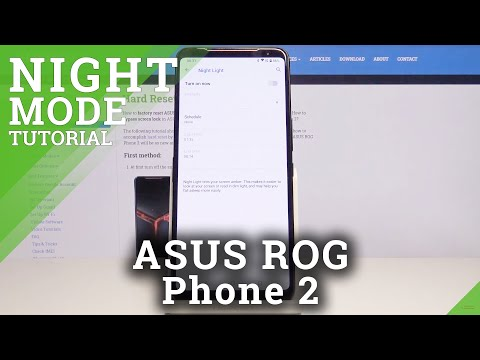 How to Activate Reading Mode in ASUS ROG Phone 2