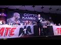 Miguel Cotto vs Yoshihero Kamegai Press Conference - esnews boxing