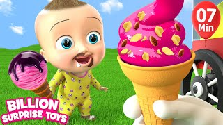 Ice Creams | Twin babies | +More BST Kids Songs & Nursery Rhymes