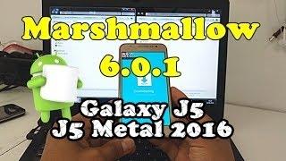 Stock Rom Firmware Marshmallow 6.0.1 Samsung Galaxy J5 SM-J500, J500M, Metal 2016 J510MN, Atualizar