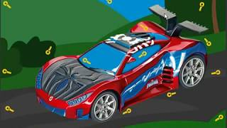Spiderman car keys hidden game level1 to level5 complete score 7500