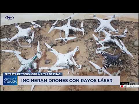 Israel incinera drones en pleno vuelo con rayos láser